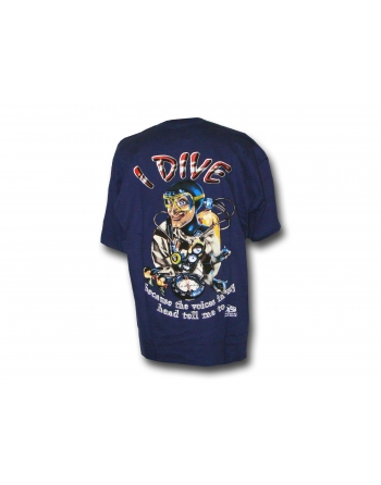 T-SHIRT Mad Blue Blue Hunter