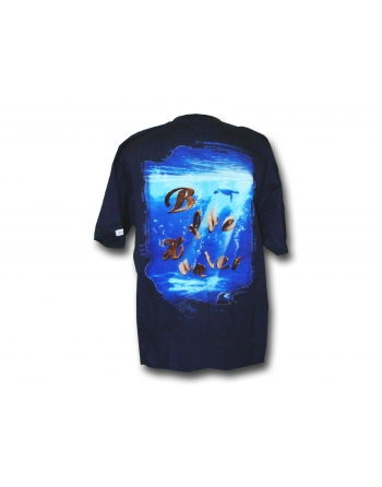 T-SHIRT Dolpins Blue Blue...